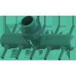3Dponics pump connector