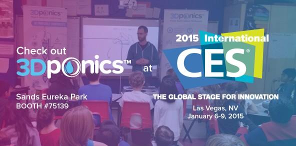 3Dponics-at-CES-2015