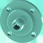 3dponics drip nozzle (3/4 inch)