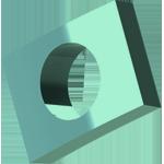 3Dponics inner clip for spacer