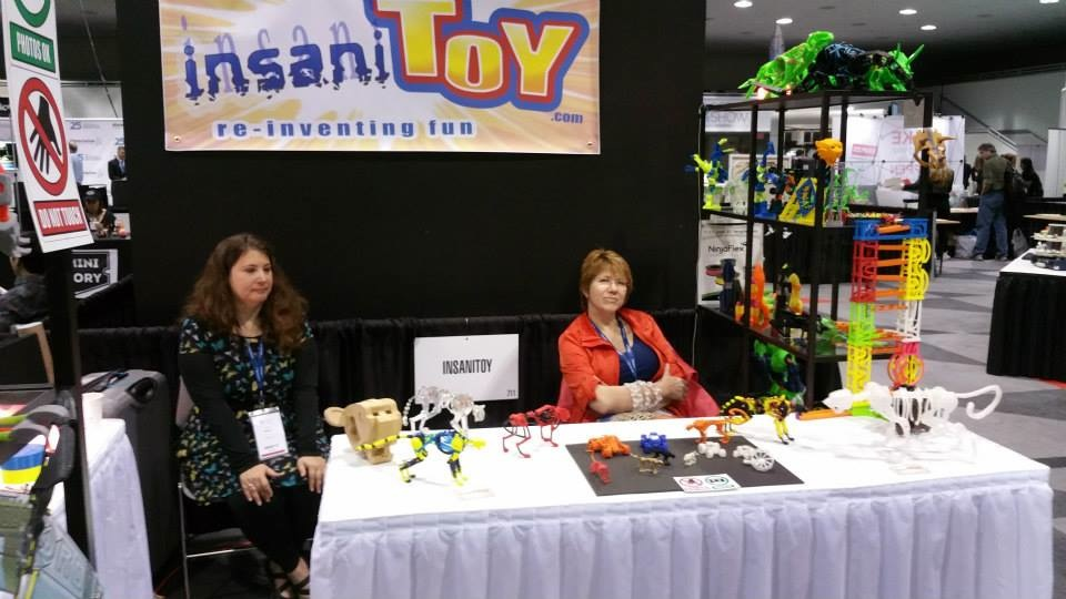 Creative 3D-printed toys InsaniToy