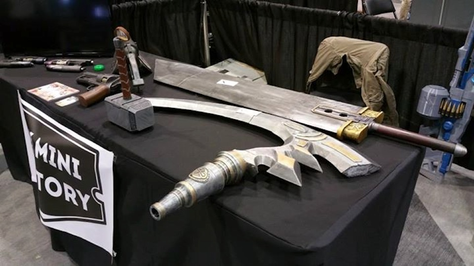 Final Fantasy 7 Buster Sword - Thor's Hammer