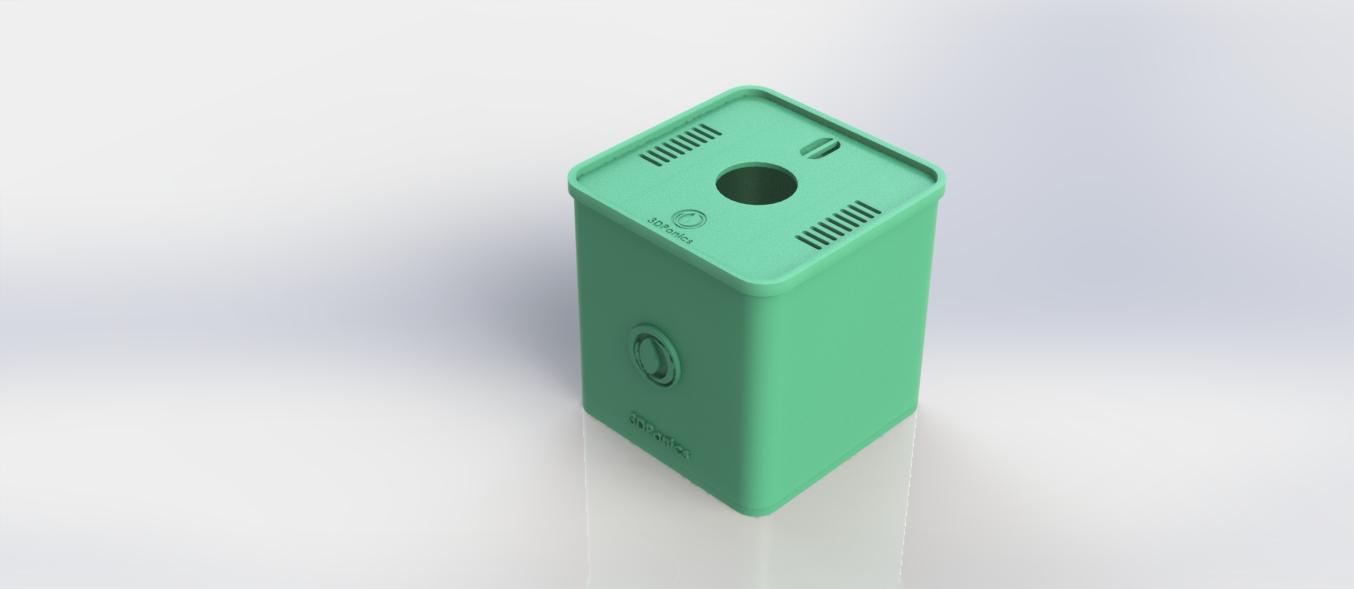 3Dponics Cube Pot - Lid