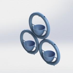 Snap and Grow Ring Pot 3Dponics