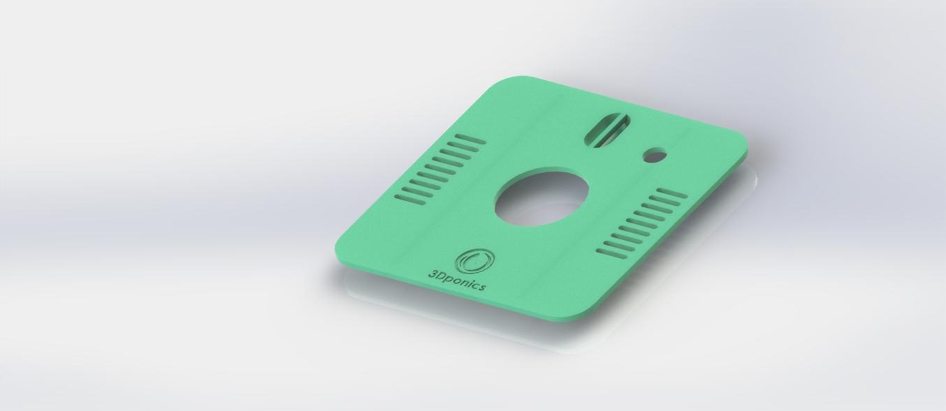 3Dponics Cube Pot Lid