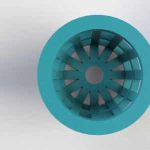 3Dponics Cube Pot Planter