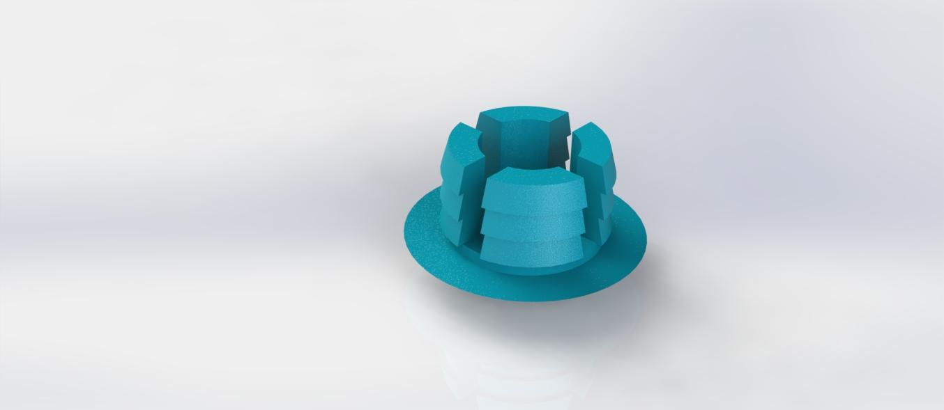 3Dponics Pot Plug
