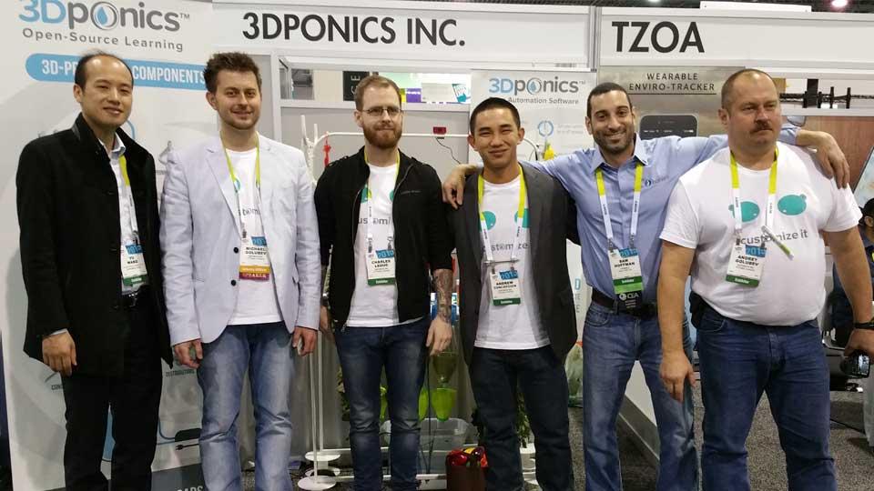 3Dponics Team - 2015