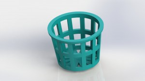 3D-Printed Hydroponics Garden for Legal Marijuana - 3Dponics Planter