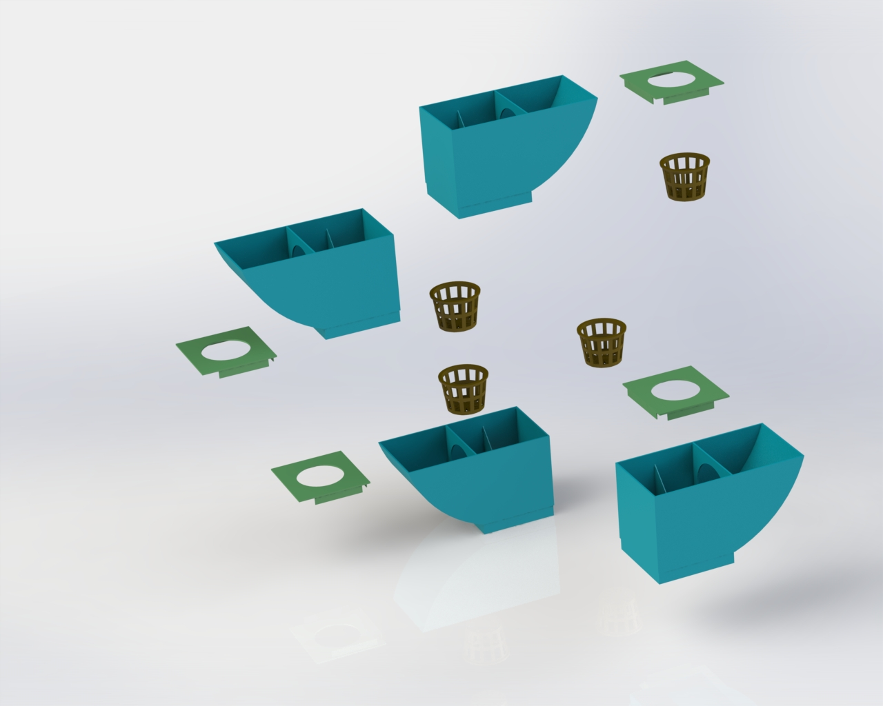 Modular Hydroponics System for Legal Cannabis Cultivation