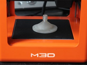 M3D Micro 3D Printer Makes 3Dponics Drip Nozzle