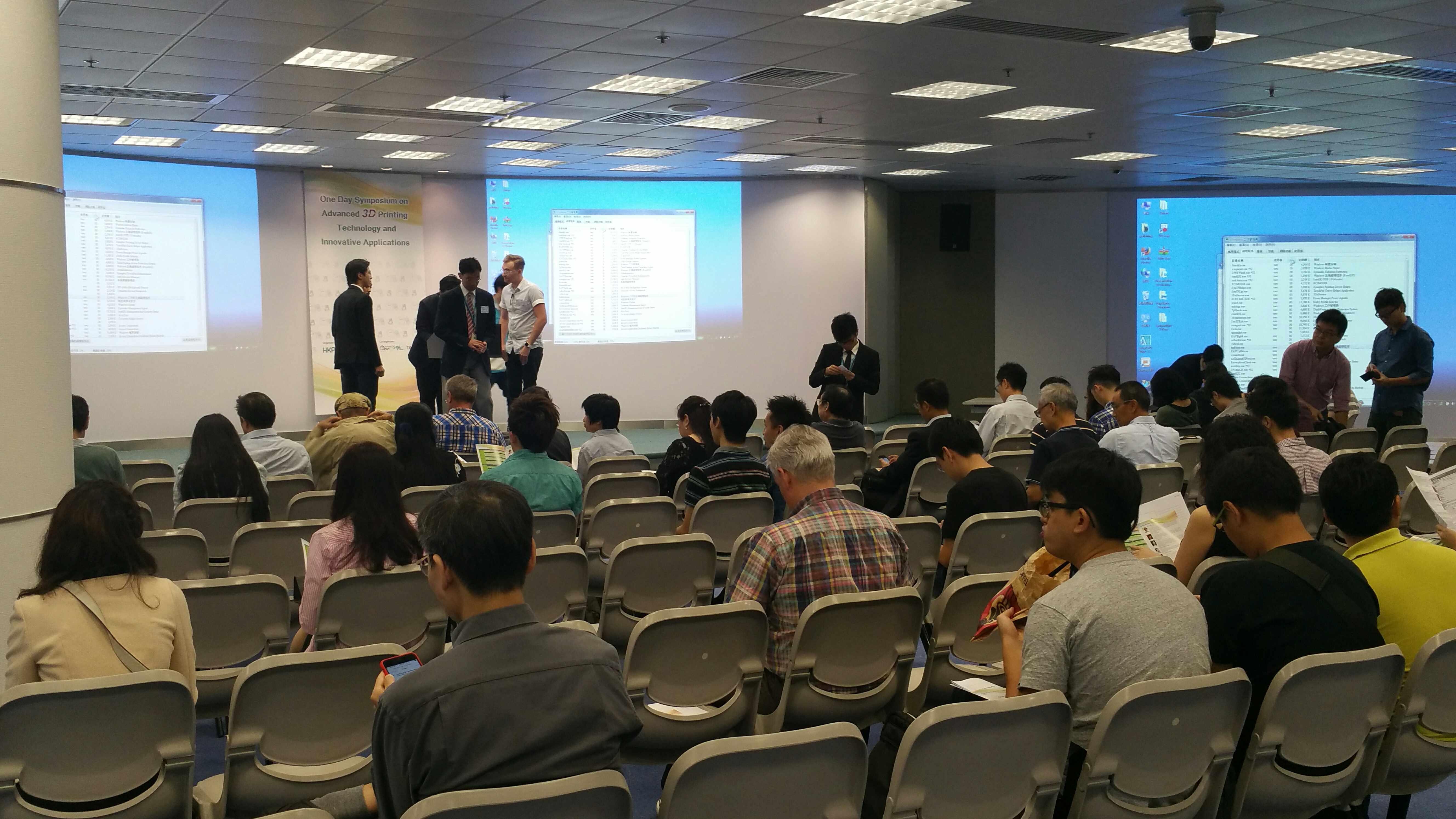 3Dponics Guest Speaker at 3D Printing Symposium in Hong Kong